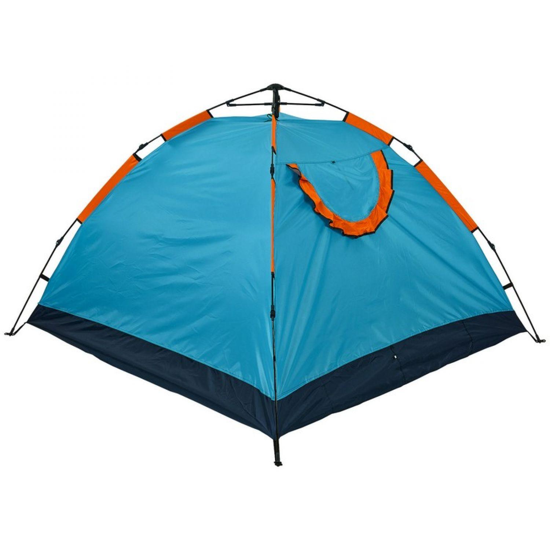 Палатка-автомат с автоматическим каркасом 4-х местная TY-0537 (р-р 2х2,1х1,35м, 1 слой, PL)