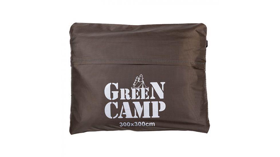 Пол дополнительный для палатки, тента, 300*300 cм, коричневый