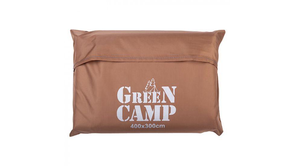 Пол дополнительный для палатки, тента, 400*300 cм, коричневый