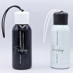 Бутылка для воды с резинкой спортивная SP-Planeta 300ml DAYS OF THE WEEK FB-3716-1 (цвета в ассортименте, сталь)