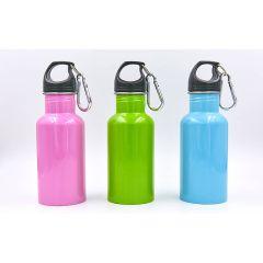 Бутылка для воды алюминиевая с карабином SP-Planeta 500ml FI-0044