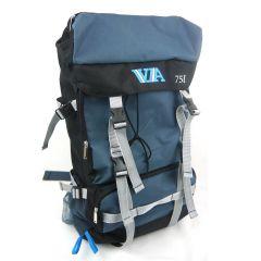 Туристический рюкзак VA-75L, blue
