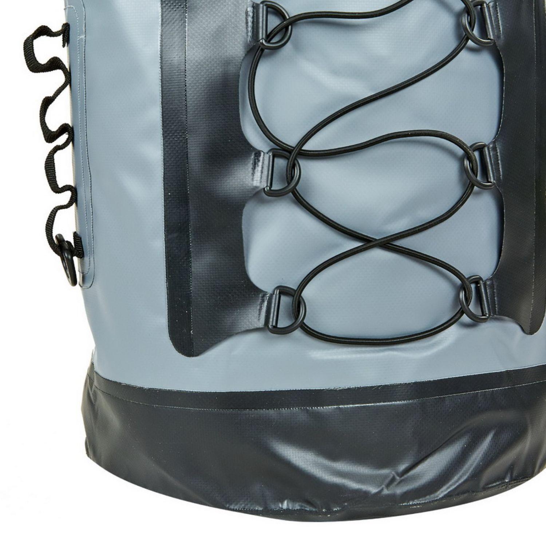 Водонепроницаемый рюкзак 28л TY-0381-28 (PVC, серый-черный )