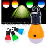 Кемпинговая лампа в палатку 3LED