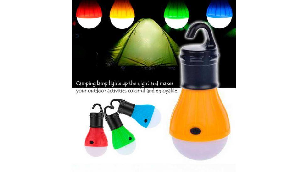 Кемпинговая лампа в палатку 3 led