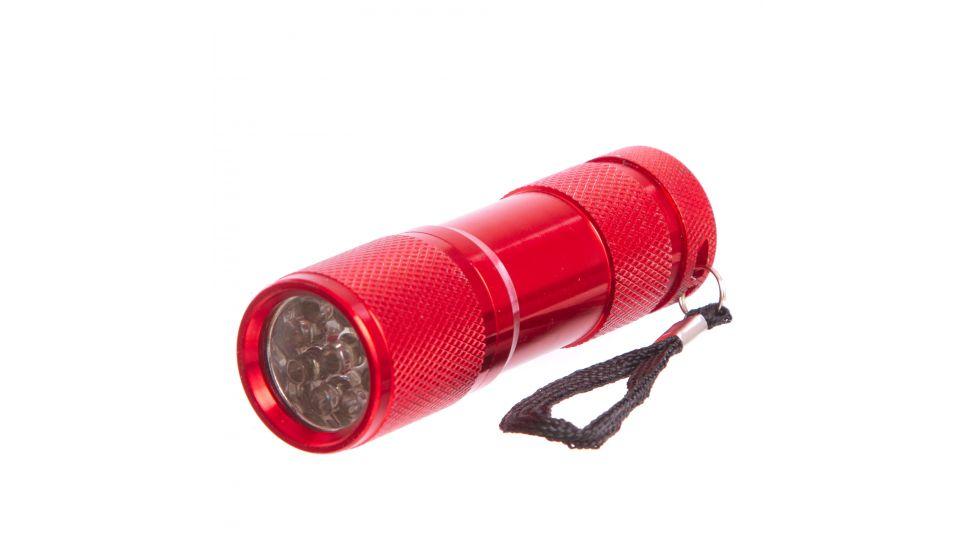 Фонарик светодиодный BL-159 (металл, пластик, 9 светодиодов, на батарейках (3 AAA))