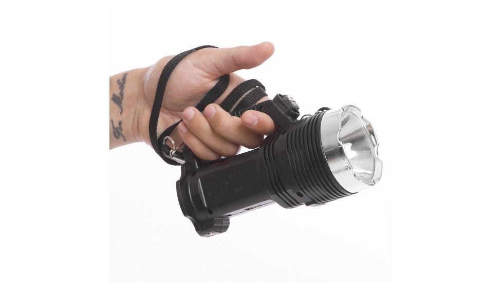 Фонарик ручной кемпинговый (для машины) BL-6870-USB (пластик, 8+1 светодиодов, l-17см)