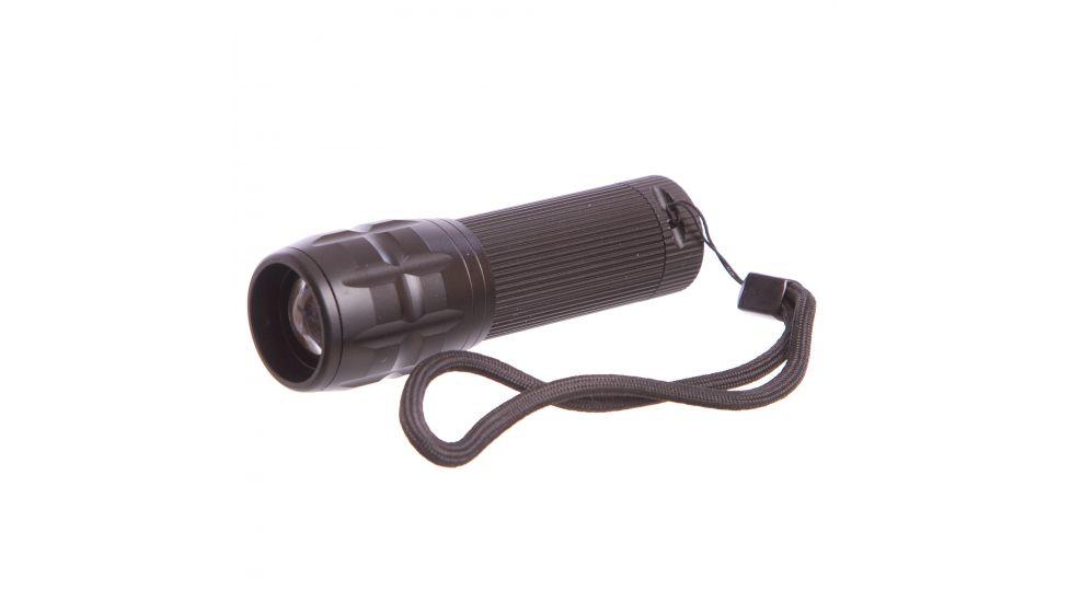 Фонарик светодиодный BL-8400 (металл,пластик,l-10см,1Cree лампа,zoom,на батар.(3ААА))