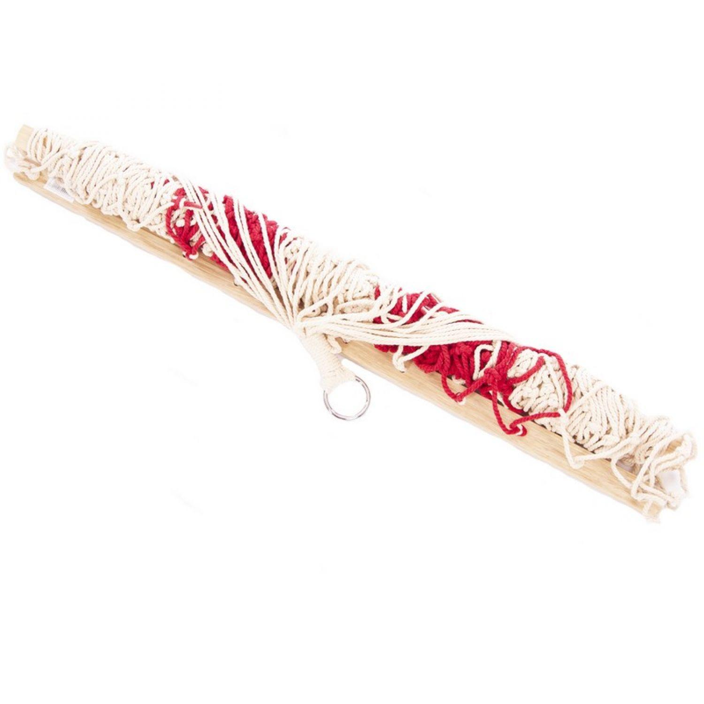 Гамак-Сетка с деревянными перекладинами TO-6047 (р-р 1,8х0,8м, хлопок, PL)