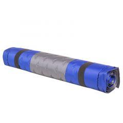 Коврик надувной, 188*64*4см, сине-серый
