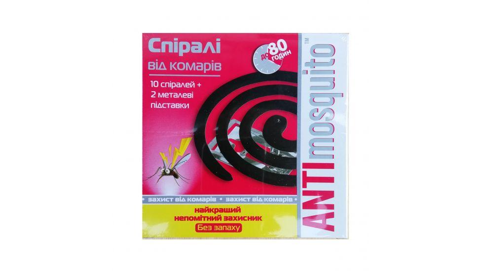 Спирали Anti Mosquito (универсальная защита)