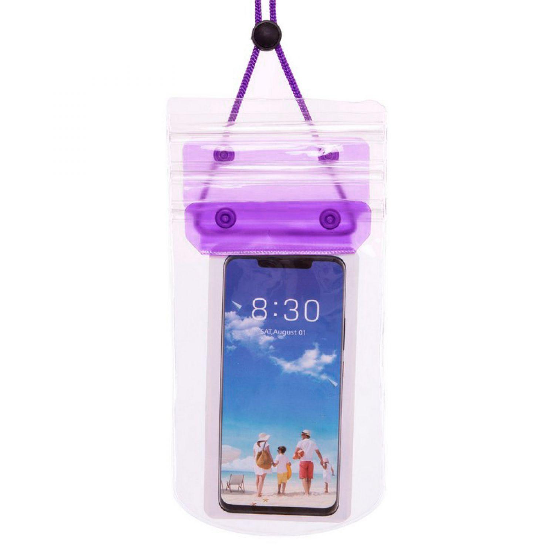 Чехол-кошелек на шею водонепроницаемый F001-3 (полиэстер, на шею, цвета в ассортименте)