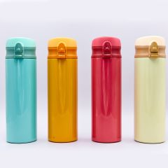 Бутылка для воды-термос SANMEGA 450ml FB-8006 (сталь, цвета в ассортименте)