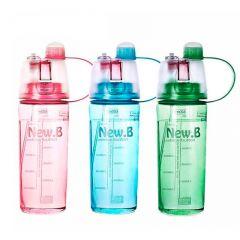 Бутылка для воды NewB, распылитель, 400мл