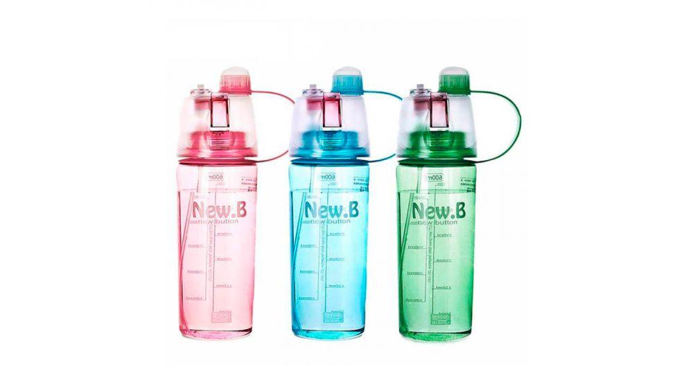 Бутылка для воды NewB, распылитель, 600мл