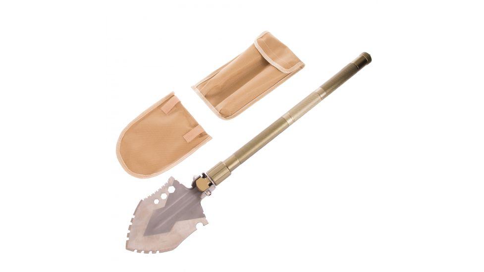 Лопата многофункциональная складная тактическая ty-6310 (нерж.,хром.сталь, i-74см,р-р 13х16,5см, олива)