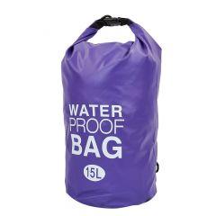Водонепроницаемый гермомешок с плечевым ремнем Waterproof Bag 15л TY-6878-15