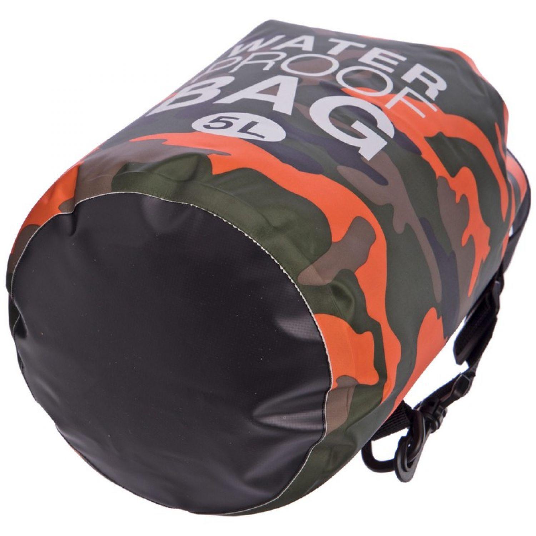 Водонепроницаемый гермомешок с плечевым ремнем Waterproof Bag 5л TY-6878-5