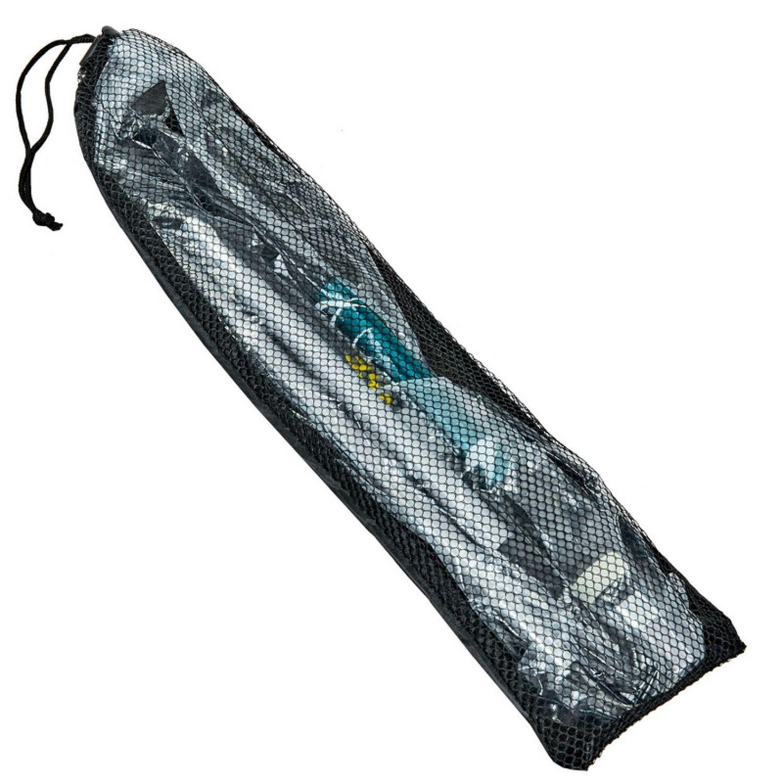 Палка треккинговая (для скандинавской ходьбы) с металлическим тросом (2шт) TY-0466-5 CONTOOSE (алюминий, 5 слож, l-55-123см)