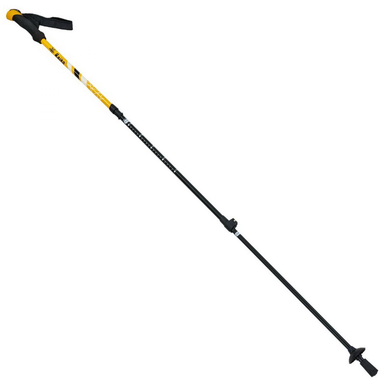 Палка треккинговая (для скандинавской ходьбы) (2шт) TY-0468 RAICO (алюминий, 3 слож, l-55-63см)