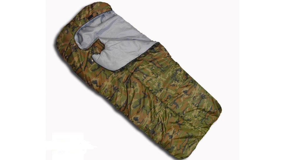 Всесезонный спальный мешок-одеяло Alpinist 300XXL с подголовником