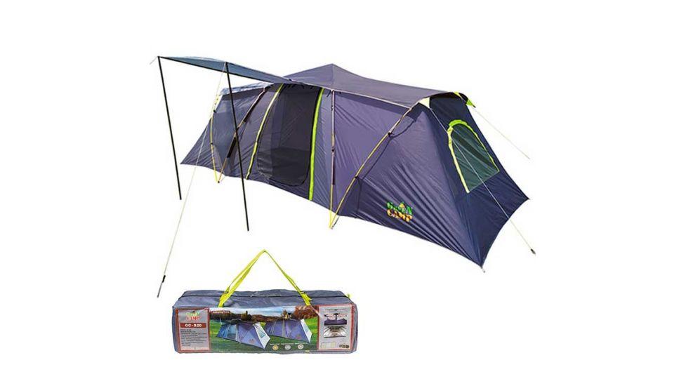 Палатка 6-ти местная GreenCamp 920, полуавтоматическая