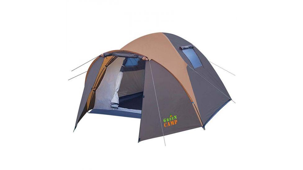 Палатка 4-х местная GreenCamp 1004