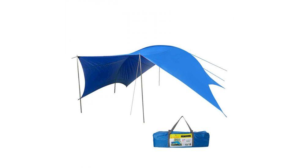 Тент GreenCamp, синий, gc0996