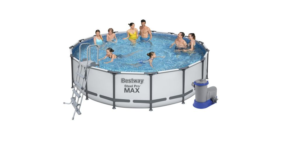 Каркасный бассейн Bestway 5612Z Steel Pro Max