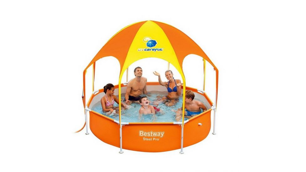Каркасный бассейн Bestway 56432 Steel Pro UV Careful