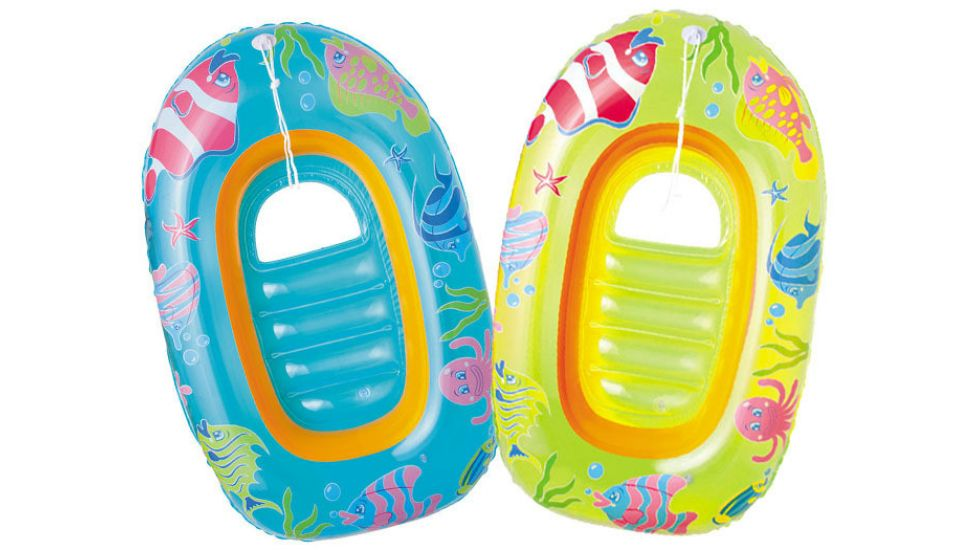 Детская надувная лодочка с отверстием для ног Bestway 34036