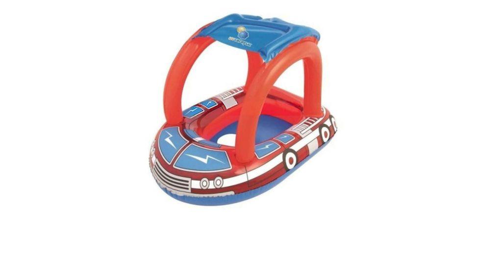Детская надувная лодочка с отверстием для ног Bestway 34093