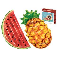 Пляжный надувной матрас Bestway 43159 Summer Fruit Lounge