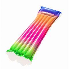 Пляжный надувной матрас с подголовником Bestway 44041 Rainbow