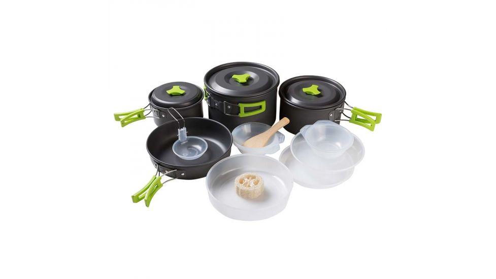 Посуда туристическая, алюминий, 4-5 чел, ds-500