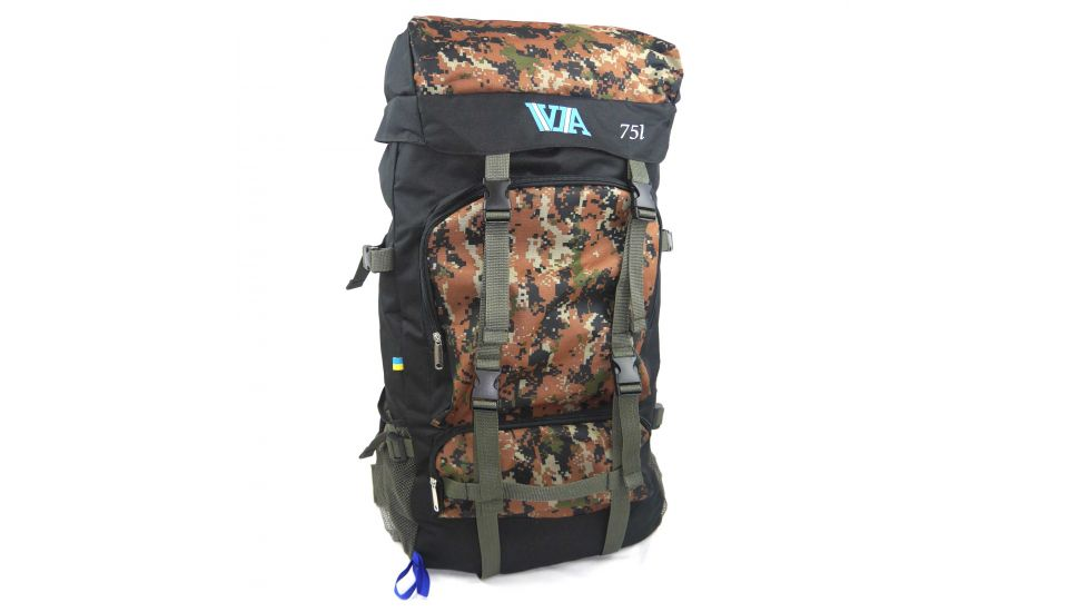 Туристический рюкзак VA-75L, pixel