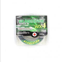 Шнур Gladiator WX4 135м зеленый