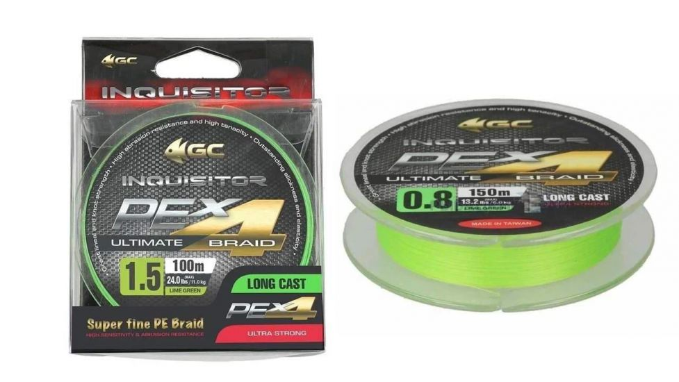 Шнур Golden Catch Inquisitor X4 Lime Green