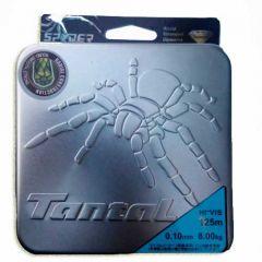 Шнур плетеный Dyneema Tantal Spyder Tricon, 125м (0,10 - 0,5 мм)