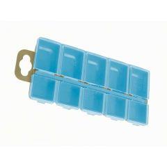 Коробка Aquatech 10 ячеек с крышками 2310