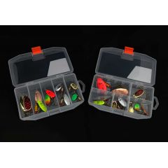 Наборы блесен Mepps Kit 10 шт в коробке 3,5-13 gr