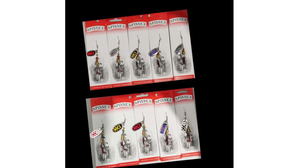 Набор вращающихся блесен Spinnex Beetle original 5шт.