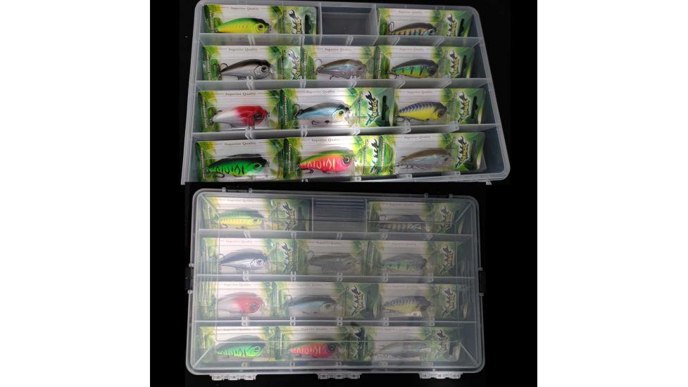 Набор подарочный ряд воблеров Strike Pro Chubby Crank в коробке 11 шт.