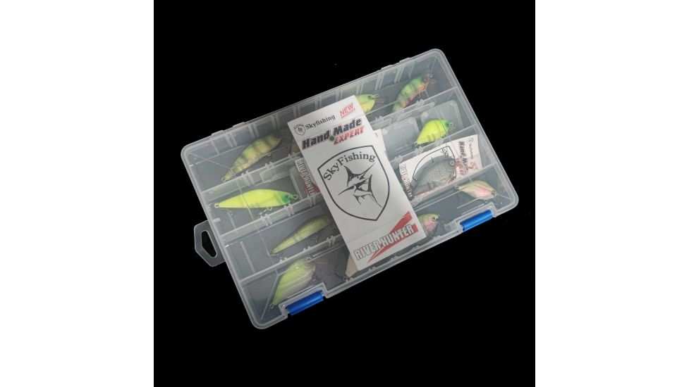 Набор воблеров Sky Fish в коробке ручная работа Украина 13 шт