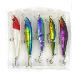 Подарочный набор воблеров в коробке от Sky Fish 5 шт. – 12 грам