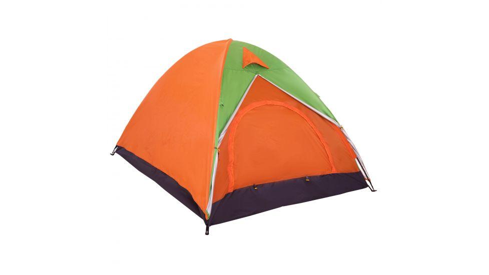 Палатка кемпинговая 6-местная с тентом sy-021