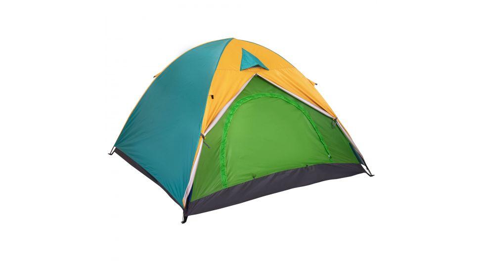Палатка универсальная sy-029 3-х местная с тентом
