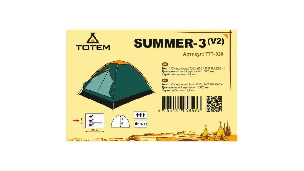 Универсальная палатка Totem Summer 3