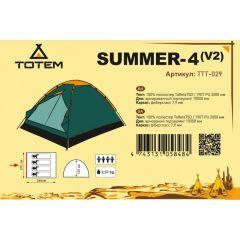 Универсальная палатка Totem Summer 4