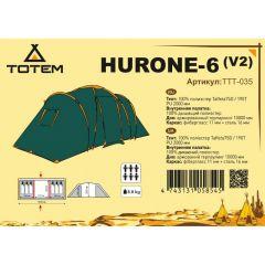 Кемпинговая палатка Totem Hurone 6